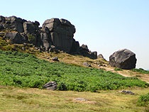 Ilkley moor, Cow and Calf Rocks www.yorkshirenet.co.uk/yorkshire-dales/harrogate-accommodation.aspx