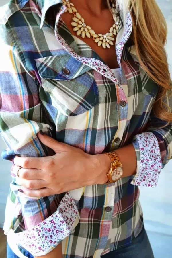 Very Lovely Shirt with Fashionable Accessories. Absolutely Amazing