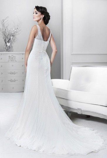 14130 - Crystal Collection - Kolekcja sukni ślubnych Agnes - koronkowe suknie ślubne