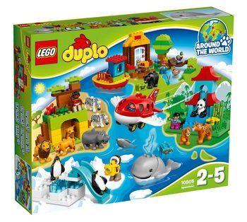 10805 LEGO Duplo verden rundt   Køb online på Bilka.dk, 671,-