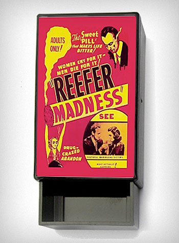 What a great movie! Makes me laugh out loud!Little Boxes, Fashion, Trinket Boxes, Reefer Mad, Gift Ideas, Mad Sliding, Sliding Boxes, Plasticland, Products