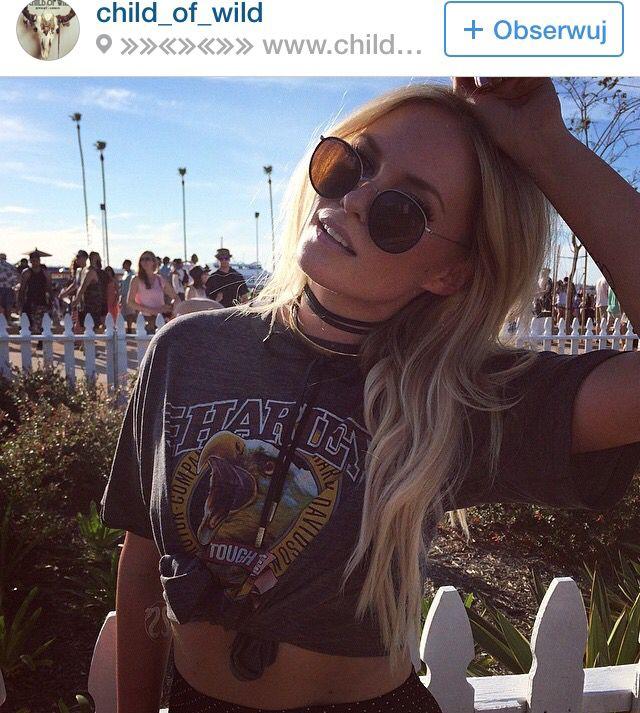Rock and roll hippie Festival wear