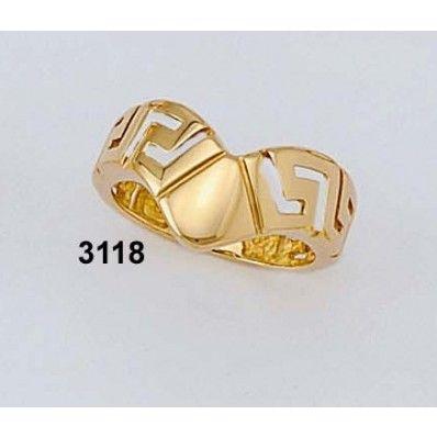 Δακτυλίδι Γκρέκα Βαρύ Κ18 Kallin