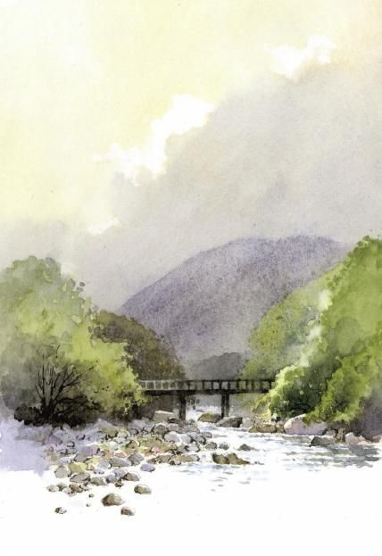 David Bellamy Afon Claerwen