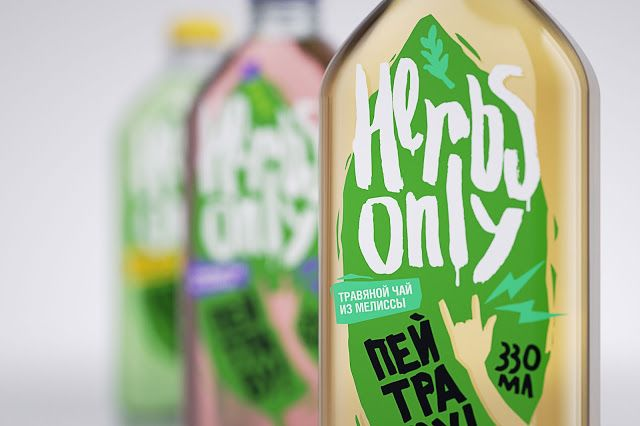 Herbs Only. Herbal Tea for Healthy Living (Student Project) on Packaging of the World – Cr ...