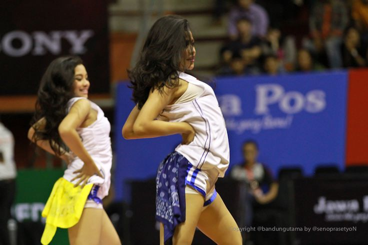 The ROAR Dancers! The 1 and only Indonesia pro basketball team dancers