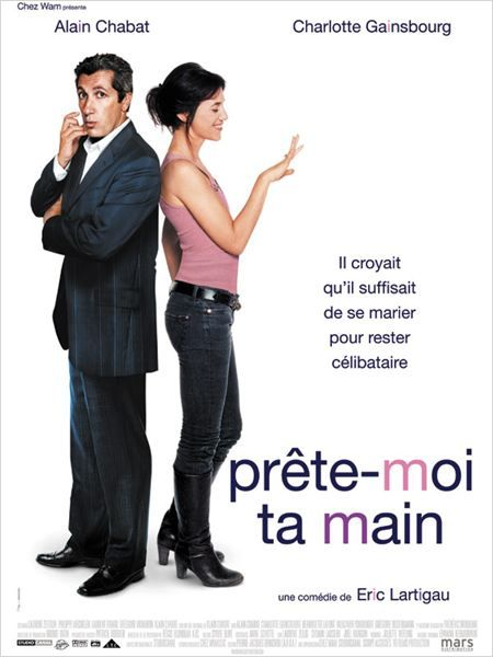 """French Romantic comedy """"Prête-moi ta main"""" - with Alain Chabat and Charlotte Gainsbourg"""