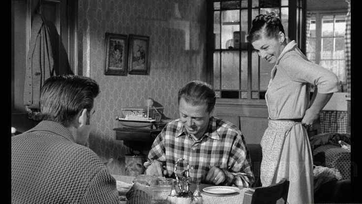 Michael Craig, Pier Angeli and Richard Attenborough in The Angry Silence (1960) Directed by Guy Green