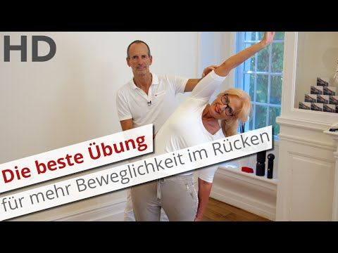 Die beste Übung für mehr Beweglichkeit im Rücken // Rückenschmerzen, Lendenwirbelsäule - YouTube