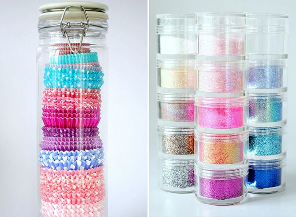 I came across this idea onTorie Jayne's blogand I think it's about time I reorganize my baking cupboard. My cupcake wrappers have always been a pain to organize, so I adore this idea of storing them in a spaghetti jar! I also have all of my sprinkles in mini plastic bags, but I would rather...readmore