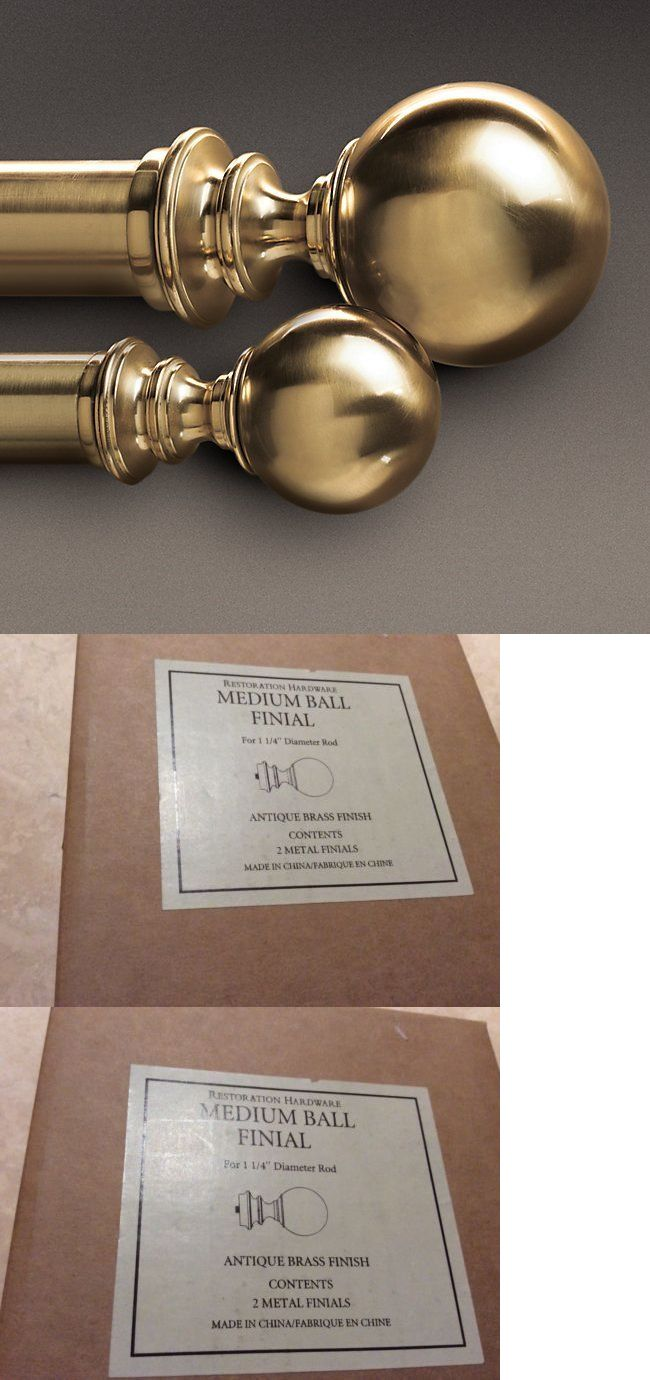 Curtain Rods And Finials 103459 Restoration Hardware Estate