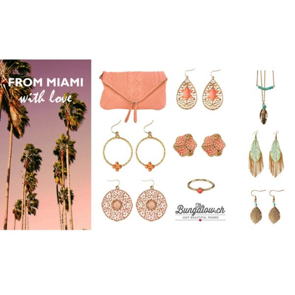 """Summer in Miami"" by ana-savic-1 on Polyvore"