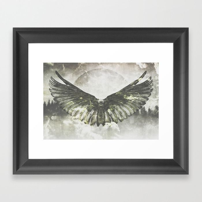 Wilderness in my heart Framed Art Print by HappyMelvin | Society6