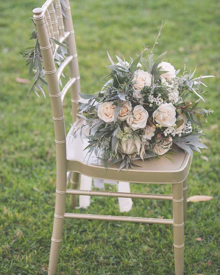 Silver Grey and White wedding bouquet inspiration