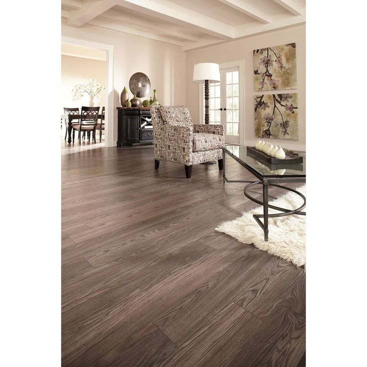Shop allen roth x 12mm provence oak for Laminate flooring ideas