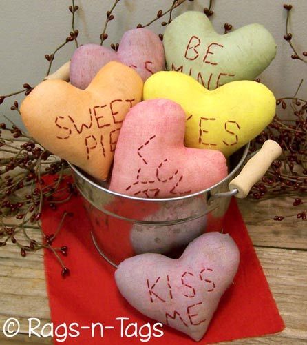 Candy Heart Bowl Fillers