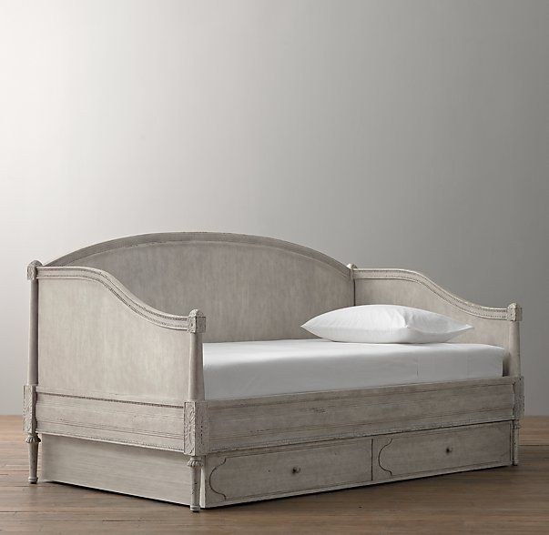 Bellina Arched Panel Daybed French Inspired Bedroom