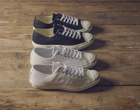 Simple, Clean, Classic goto leather Jack Purcell's. Easy for no fuss style on any guy or gal.