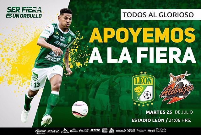 Fox Sports León vs Alebrijes de Oaxaca en Vivo Copa MX 2017