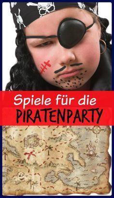 Spielideen zum Kindergeburtstag Pirat mit Gratis Download der Spielanleitungen …