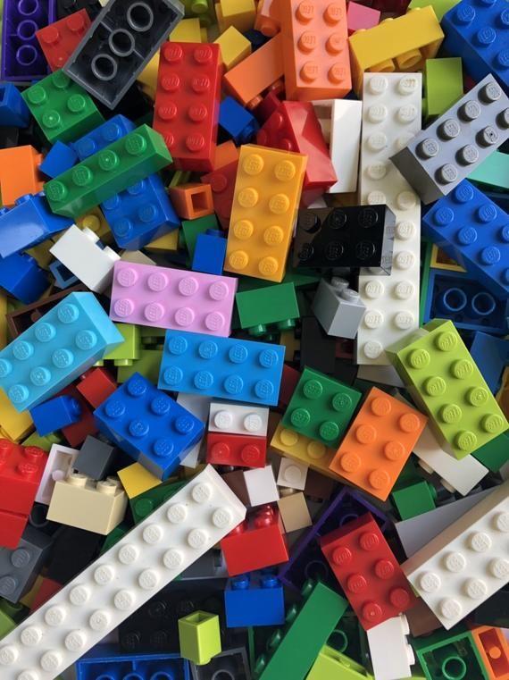 Bulk Lot LEGO 10 LB pounds Clean Genuine Bricks Parts Pieces Grab Bag