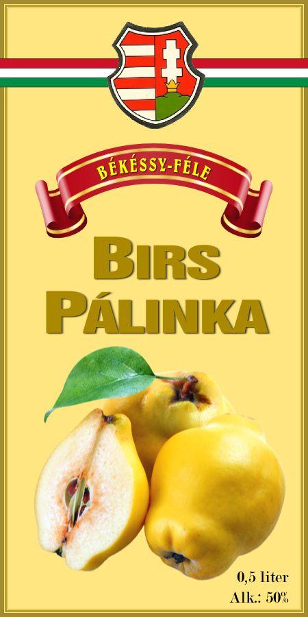QUINCE PALINKA (Eastern European 'penicillin')