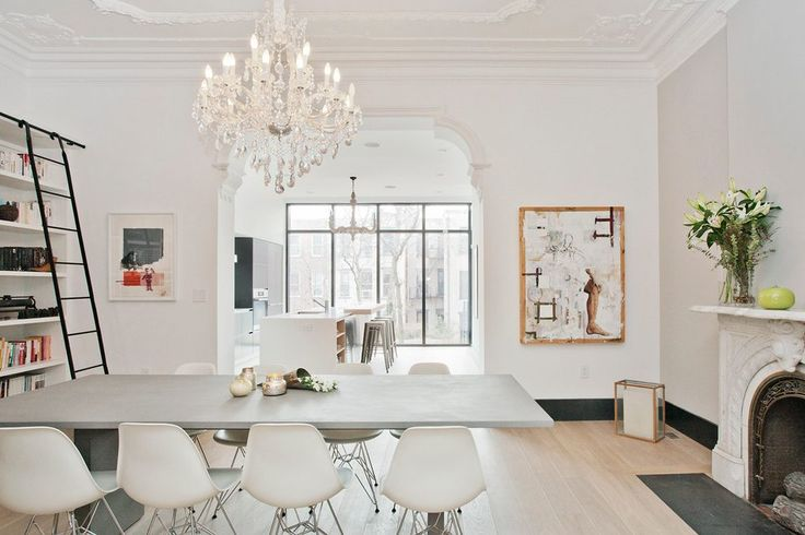 modern victorian dining room scandinavian with rolling library ladder traditional artificial lillies