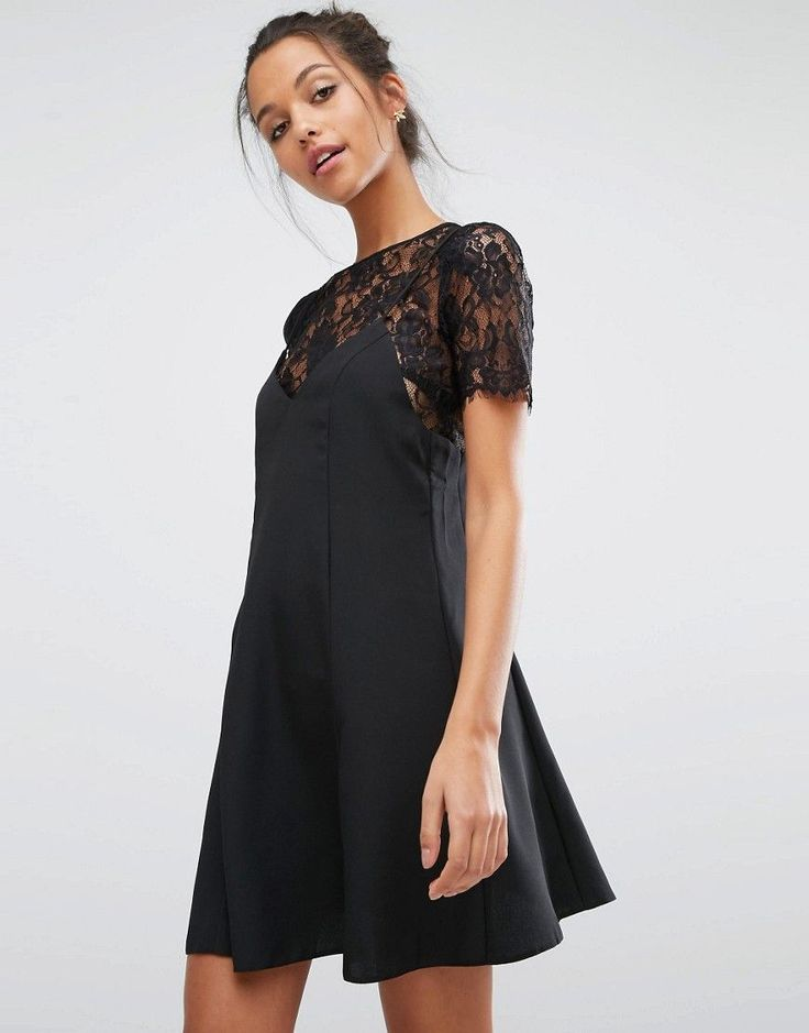 You'll look great with this  Miss Selfridge Lace 2 In 1 Cami Dress - Black - http://www.fashionshop.net.au/shop/asos/miss-selfridge-lace-2-in-1-cami-dress-black/ #1, #2, #Black, #Cami, #ClothingAccessories, #Dress, #Female, #In, #Lace, #Miss, #MissSelfridge, #Selfridge, #Womens, #WomensDresses #fashion #fashionshop
