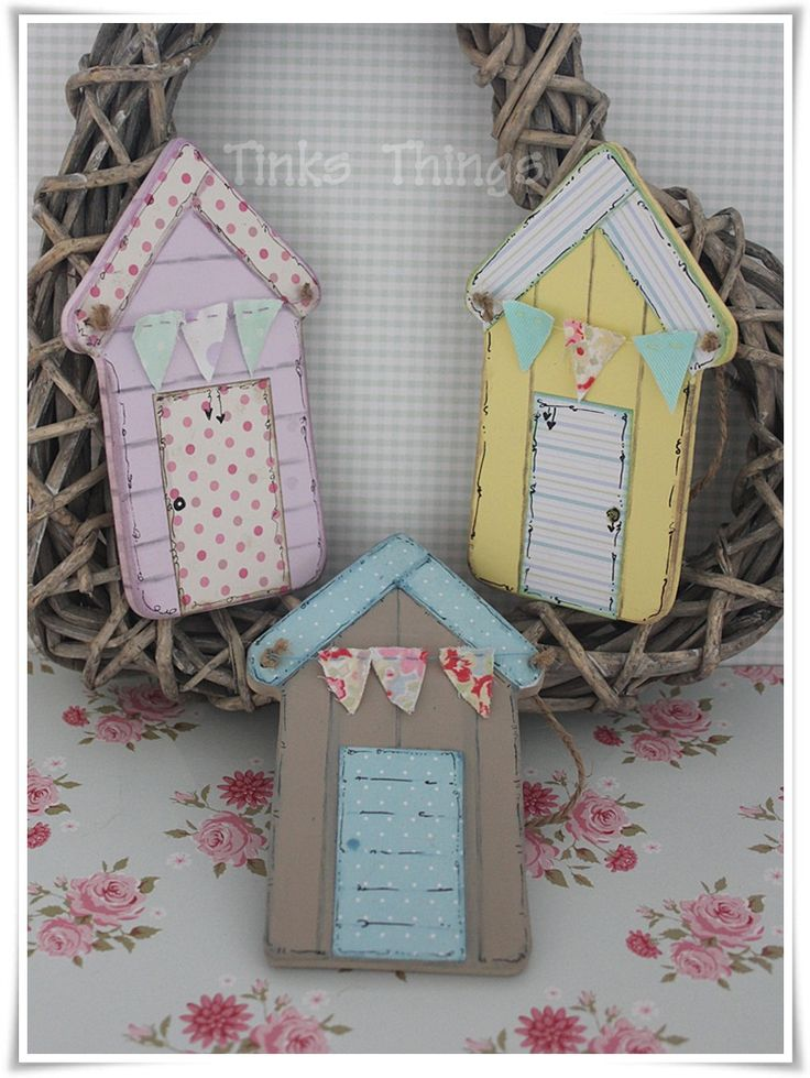 Summery Beach Huts