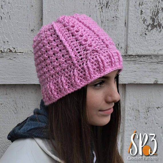 Slalom Slope Beanie Crochet Pattern | Crafts- possible gifts ...