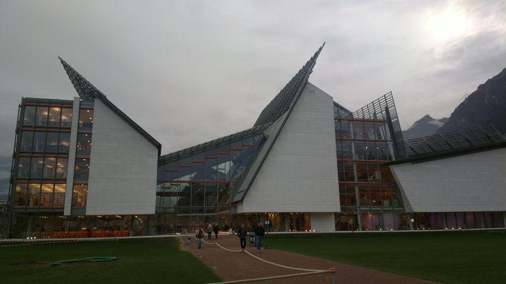 MUSE -Trento Quartiere le Albere, architetto Renzo Piano