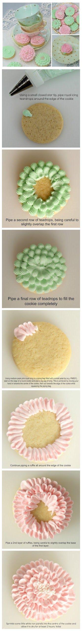 cookglee recipe pictures: Springtime Cookies