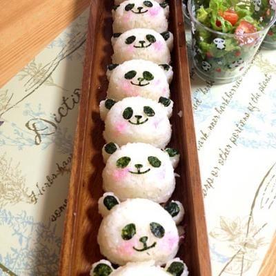 Panda  onigiri