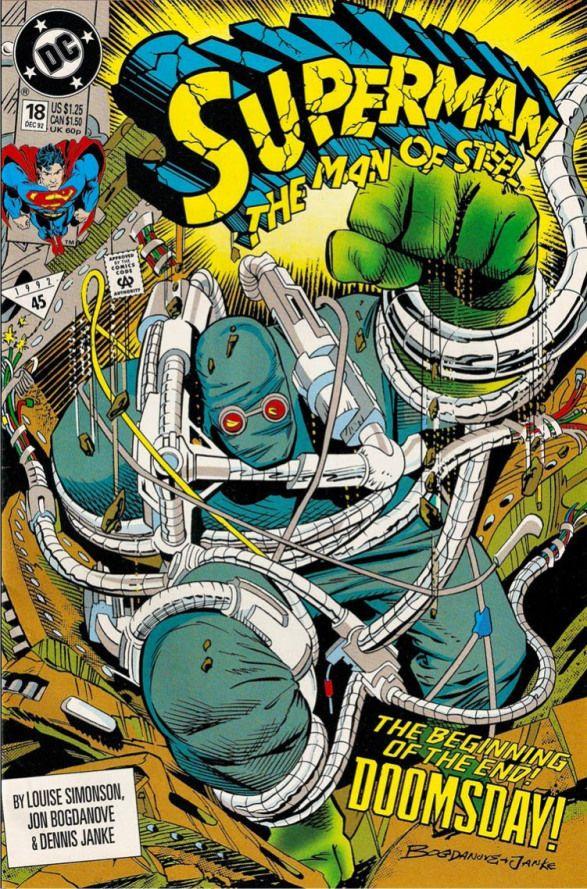 Os 20 e poucos anos da Morte (e Retorno) do Super-Homem PIPOCA COM BACON #PipocaComBacon #Superman #ManOfSteel #CyborgSuperman #Superboy #Eradicator #HomemDeAco #ManOfSteel #DCComics #ReignOfTheSupermen #Quadrinhos #Comics