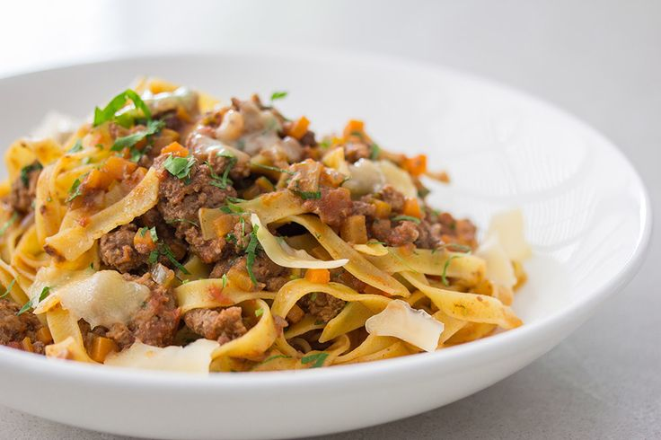 Recipe: Lamb Bolognese