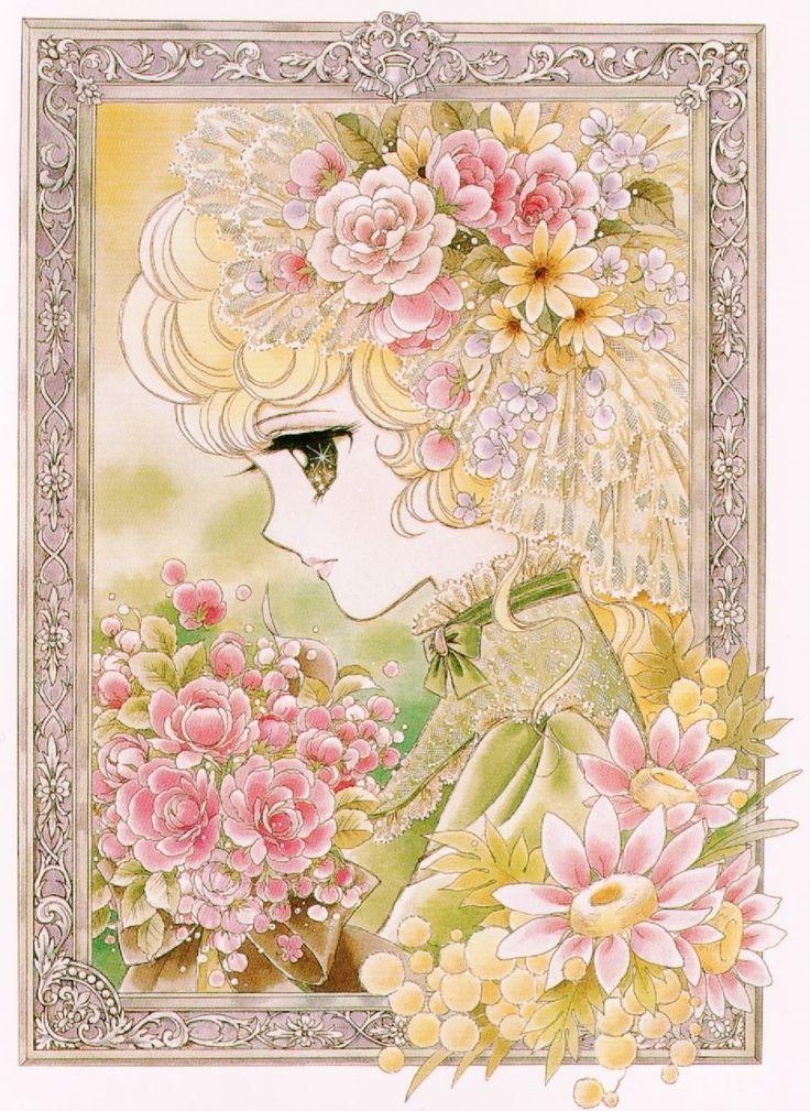 Georgie by Mann Izawa•Art of Yumiko Igarashi color sleeve ✤ || ジョージィ! (Jōjī!) • concept art, #shojo clasico #historieta #anime #cartoni #animati #comics #cartoon from the art Yumiko Igarashi || ✤ #Georgie, レディジョージィ Redi Jōjī 1982- Shojo comic