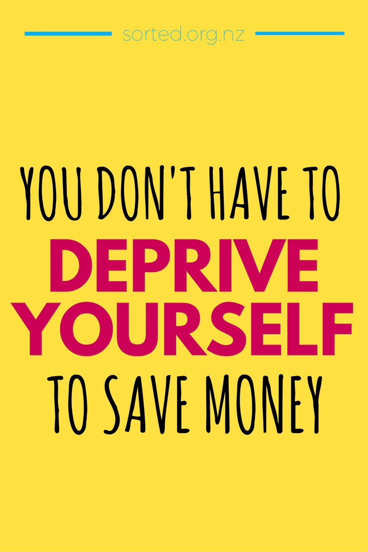 You don't have to give up EVERYTHING to save money! Seriously.