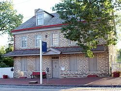 The John Johnson House (also known as the Johnson House) is a National Historic Landmark in Philadelphia, Pennsylvania, significant for its ...
