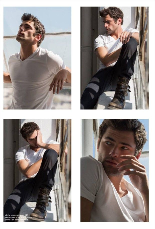 Sean O'Pry for Status Magazine by Sean Armenta