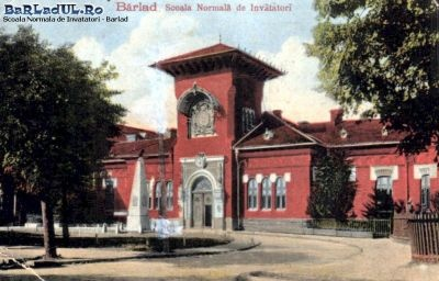 Barlad - scoala Normala de Invatatori - interbelica