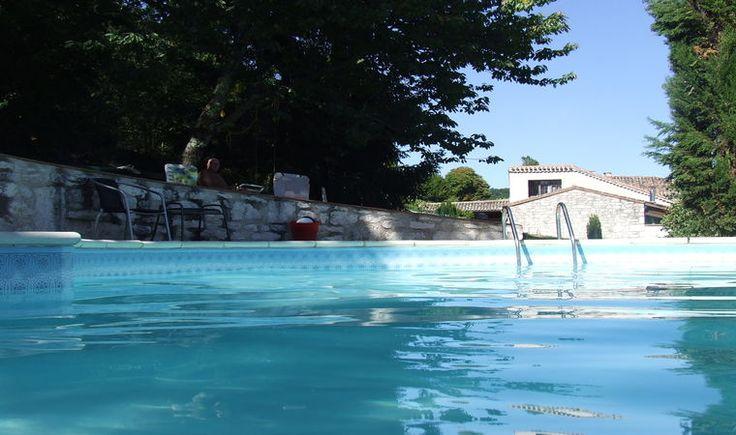Even afkoelen? Een natuurhuisje met een heerlijk zwembad!