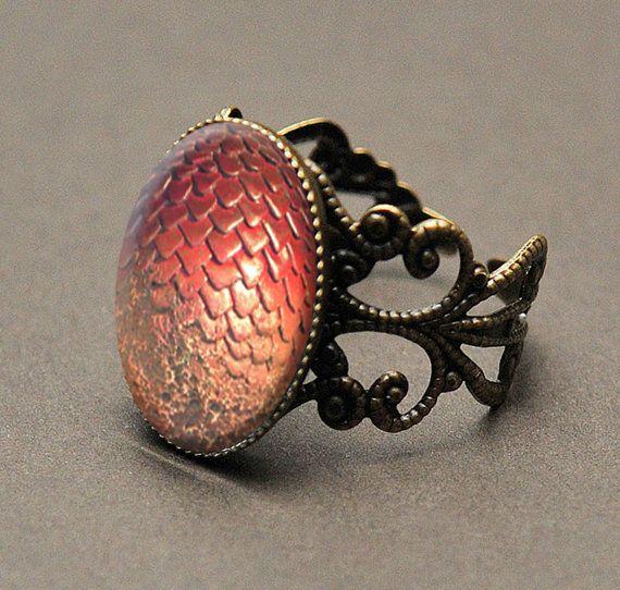 Gioco di anello di troni drago uovo Khaleesi di Spookyisland