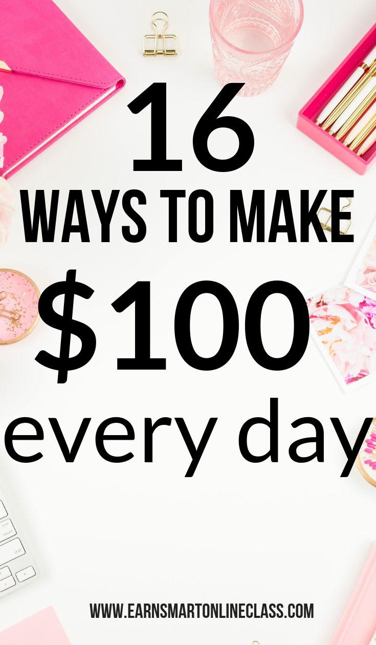 How to Make $100 a Day – alexandria hendrickson