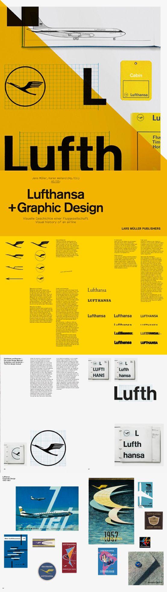Lufthansa - Designed by Otl Aicher - Ulm, 1962.