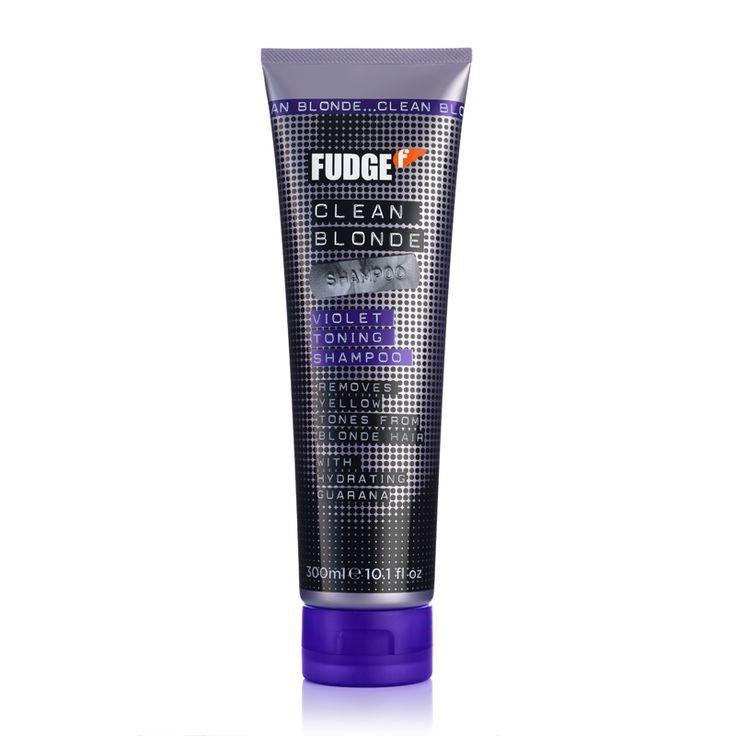 Fudge Clean Blonde Violet Toning Shampoo 300ml - feelunique.com