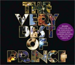 Prince - The Very Best of Prince. A 17-song collection of some of Minnesota native Prince's most popular songs. Link to library catalog: https://mplus.mnpals.net/vufind/Record/007842925