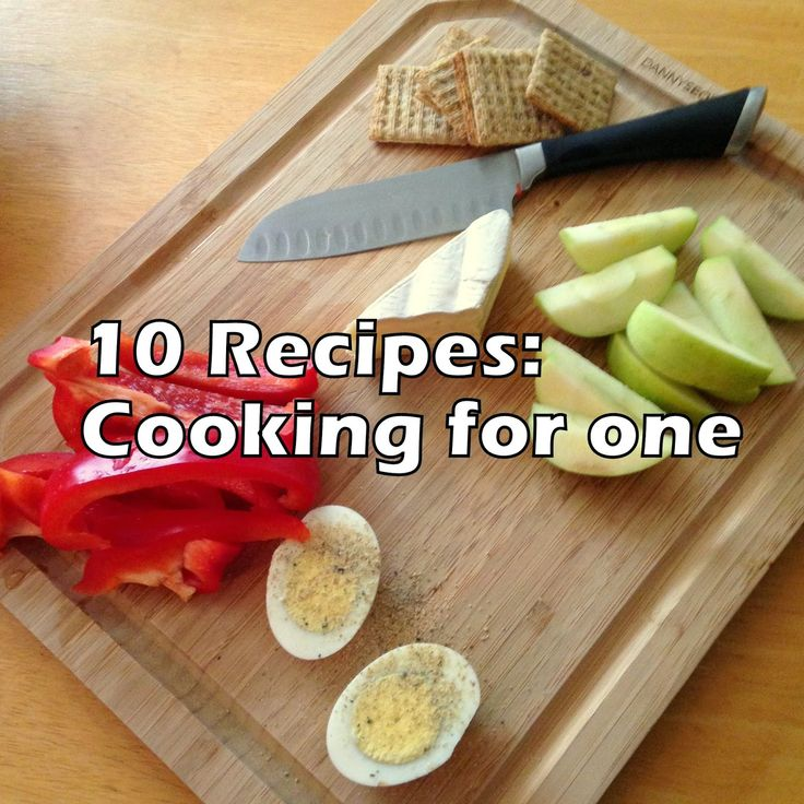 Recipe Roundup: 10 recipes for cooking for one