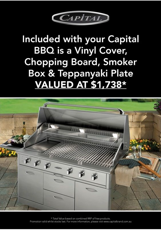 """CAPITAL - BBQ's - Made in USA - 48"""" & 52"""" Outdoor BBQ's  40"""" Built-In Gas BBQ - ACG40RBI.1 N/L -  40"""" Free Standing Gas BBQ - ACG40RFS N/L -  52"""" Built-In Gas BBQ - ACG52RBI.1 N/L -  52"""" Free Standing Gas BBQ - ACG52RFS N/L"""