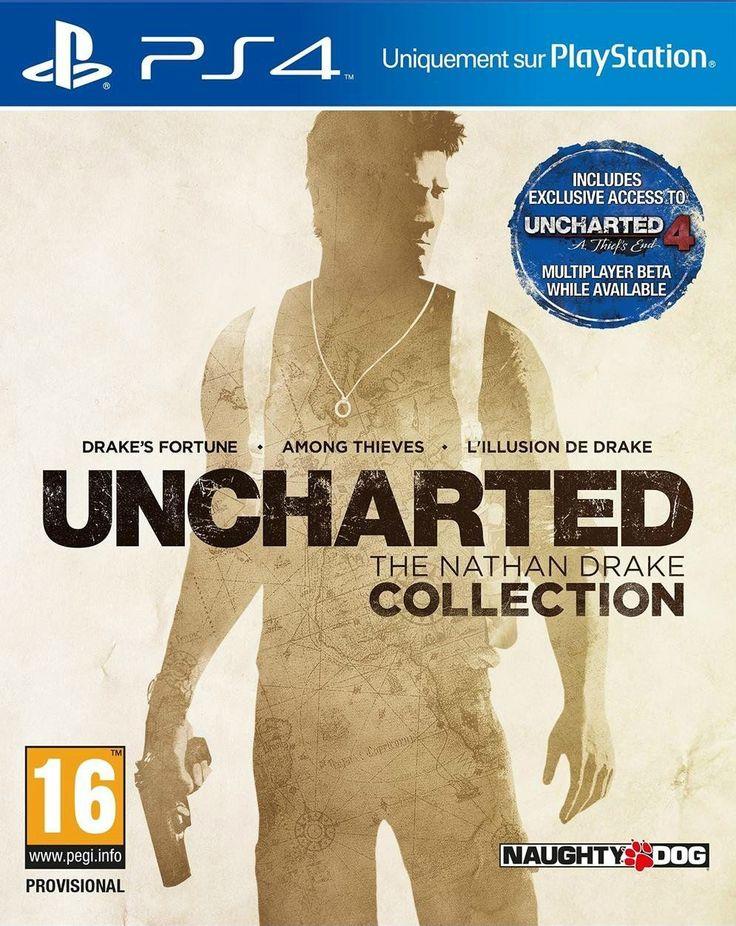 Jeux Video Priceminister, promo Uncharted The Nathan Drake pas cher sur PS4 prix promo Priceminister 43.00 € TTC au lieu de 54.99 €