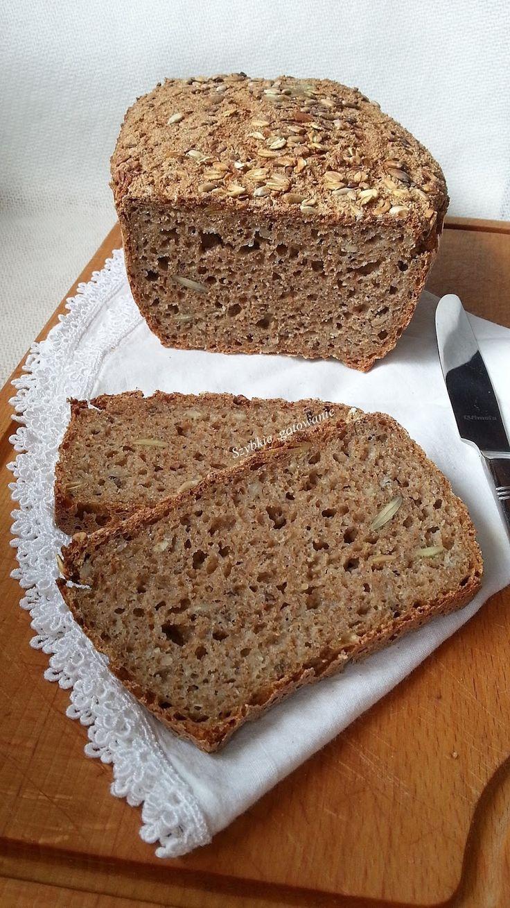 Szybkie gotowanie: Chleb bezglutenowy z czterech mąk na zakwasie
